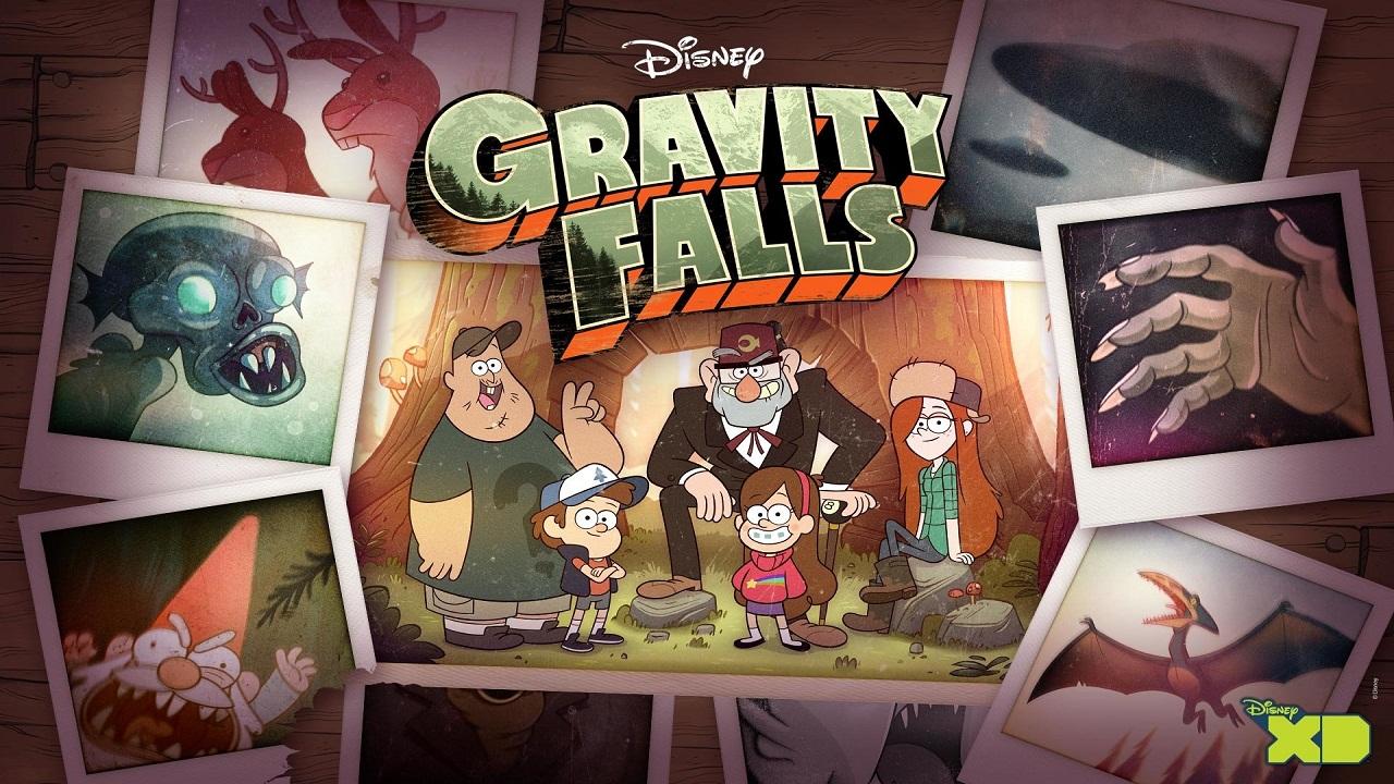 gravity falls animação disney