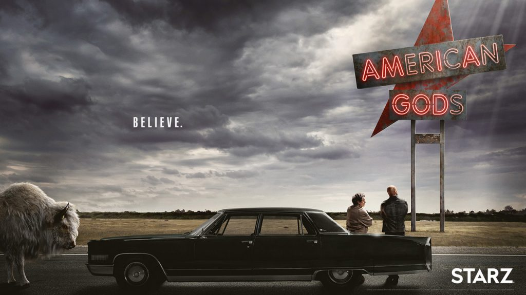 american gods starz amazon prime video serie