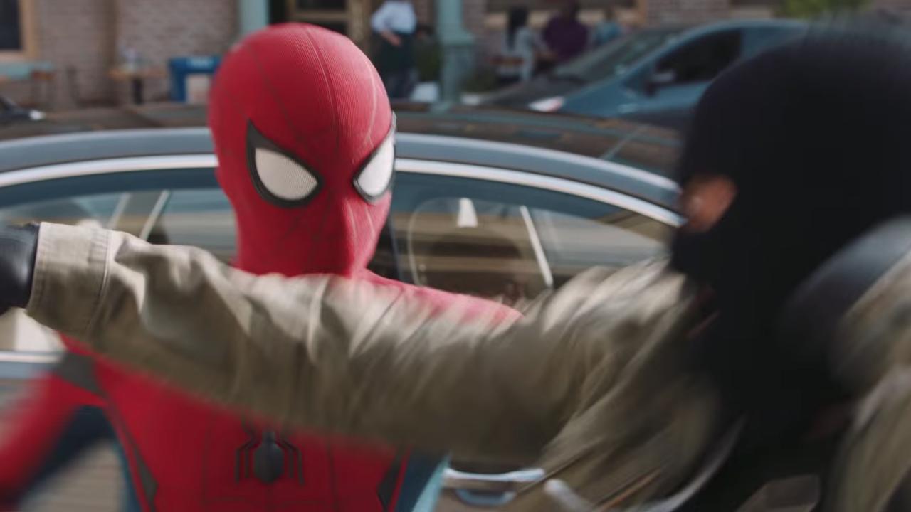comercial audi homem aranha