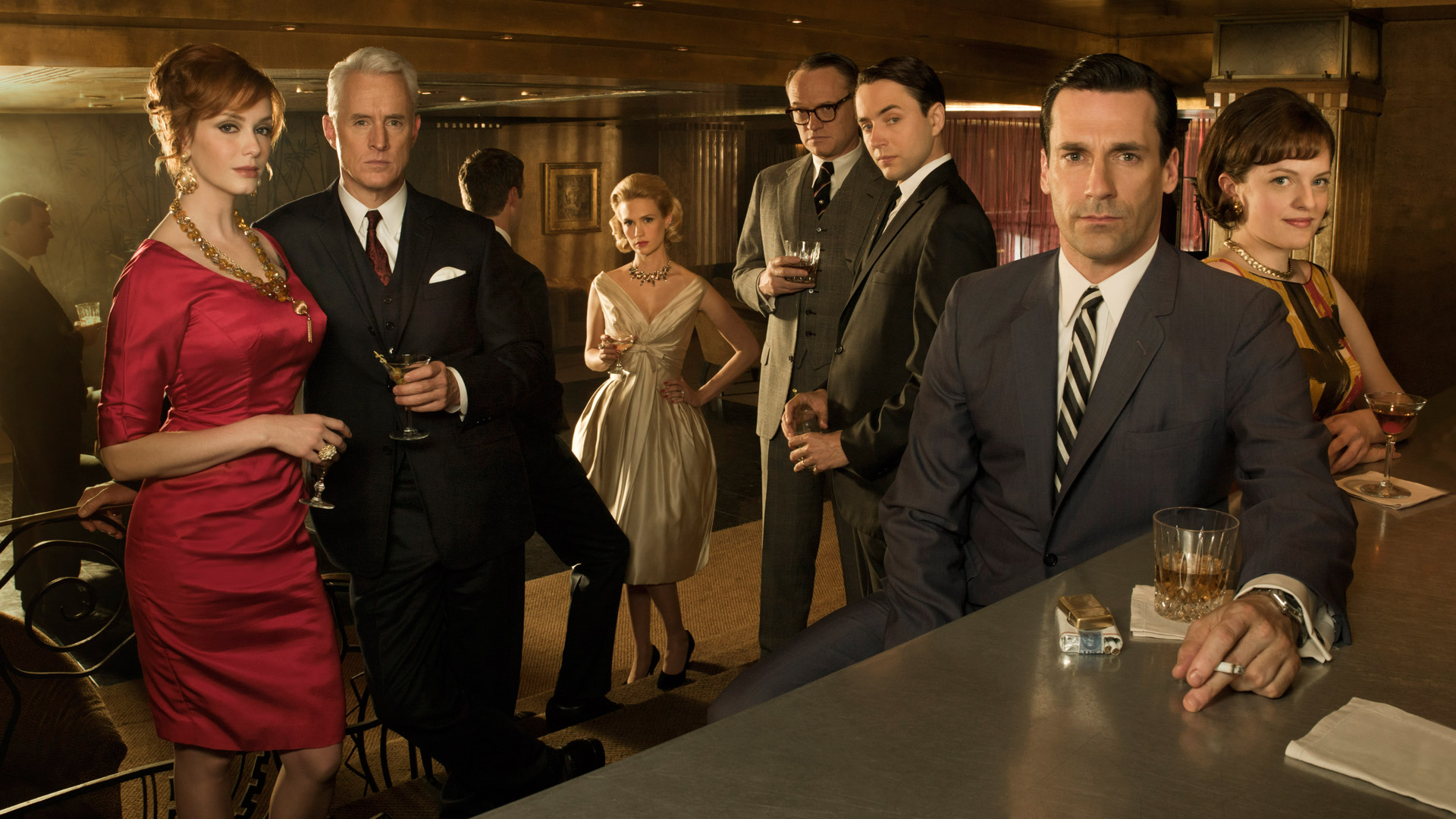Matthew Weiner e absurda Mad Men