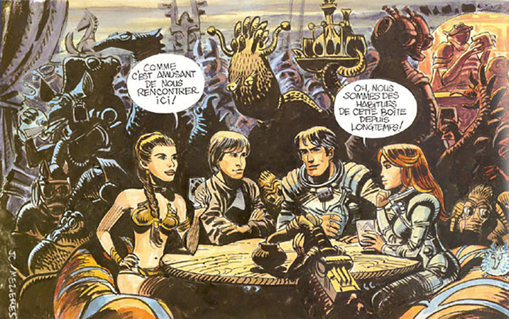 Cartoon Valerian Star Wars