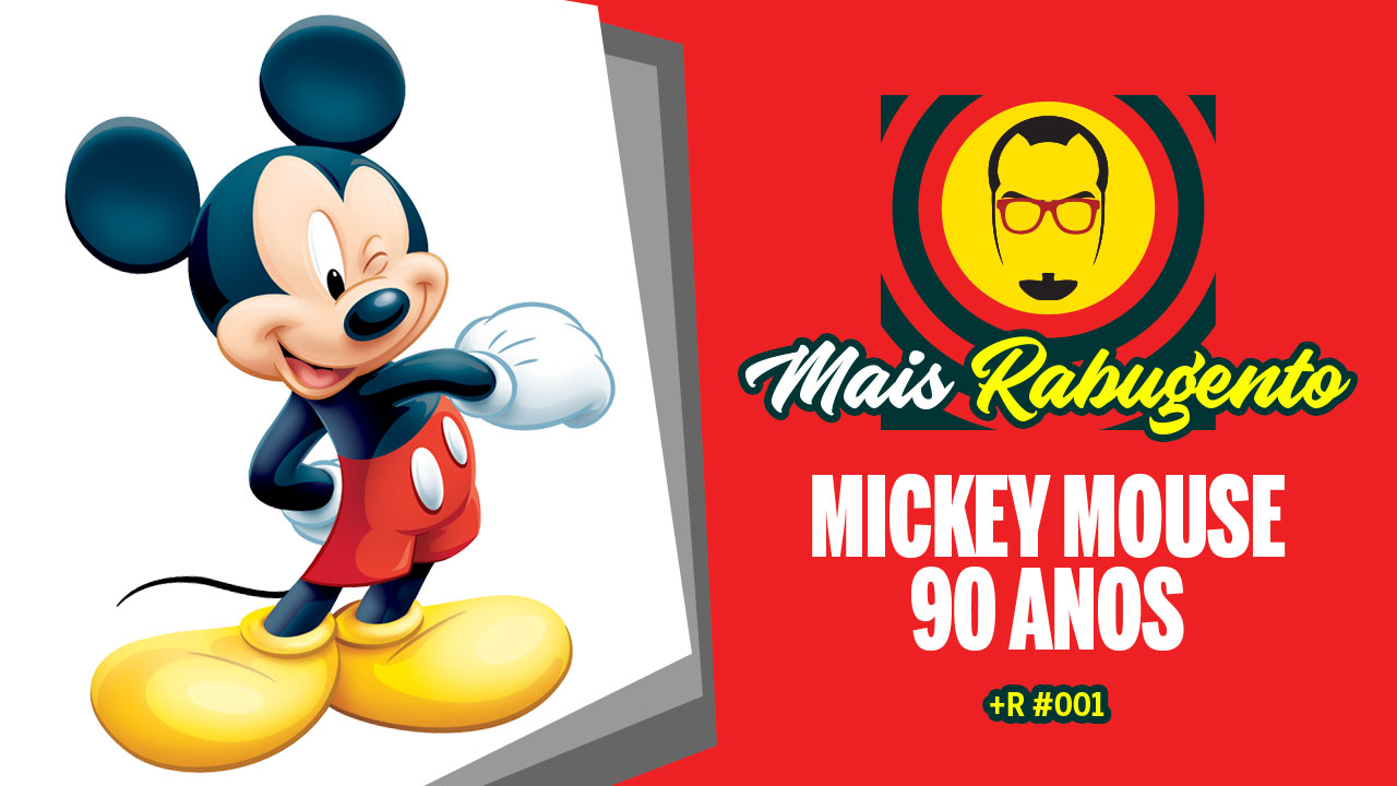 Comemoração de 90 anos do Mickey Mouse pelo Nerd Rabugento