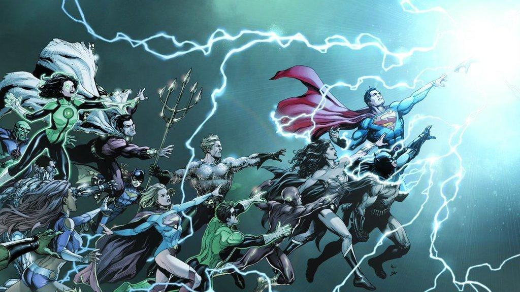DC Universe Rebirth Renascimento